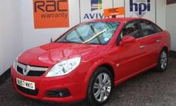 VAUXHALL VECTRA 2.2I DIRECT ELITE 5DR AUTO ( LEATHER &