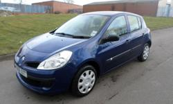 Phone:01642 240363 2006 NEW SHAPE RENAULT CLIO 1.2 5