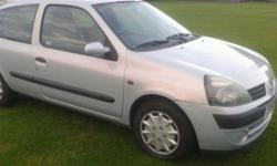 For sale is my renault clio with just 87000 miles on