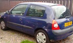 Renault Clio for sale 2005 reg 1 years mot £900 ono