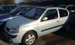 Renault Clio dynamique 16v, 3 door hatchback, Remote