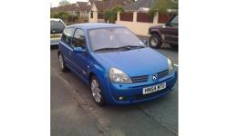 Renault sport clio 182 f.s.h mot, tax , 56k really nice