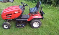 Ride on mower in good condition. MTD Lawnflite? 32""