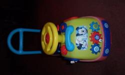 Mickey Mouse ride on toy....my little boys has endless
