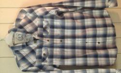 River Island Checked shirt small mens, excellent