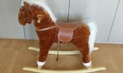 Lovely rocking horse. Lightly used by one child from