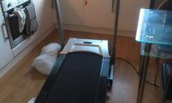 Mains powered treadmill with all original conponents,