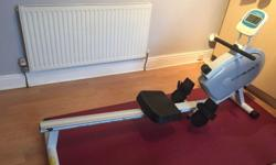Roger black rowing machine Good full working order, no