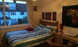 Hello, We've got a double room available now in our