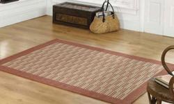 Flair Rugs Florence Raffles Rug -Terracotta / Rust 160