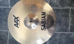 "Purchased this SABIAN 16"" AAX-Plosion Crash cymbal"