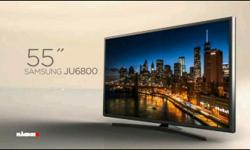 Samsung TV 55 inch 4k Ultra HD TV new condition. With