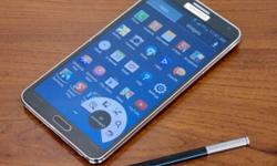 samsung galaxy note 3 smartphone comes with stylus pen,
