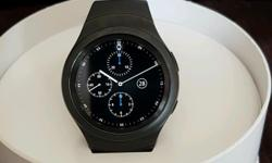 Samsung gear s2 watch with rotating bezel to select