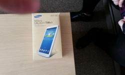 Tab 3 .7.0 wifi in good condition boxed good little pad