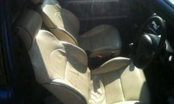 full saxo cream leather interior includes front and