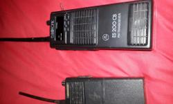 Two scanners for sale £40 for the pair, one charged via