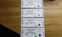 4 Scott Quigg v Carl Frampton tickets. Unfortunately