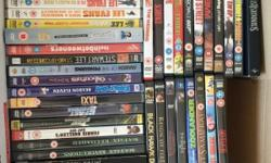 Selection of 55 DVD's (some single DVD boxes contain x2