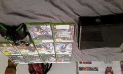 Selling Xbox 360 500 gb console Wireless mw3