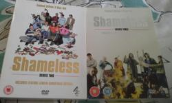 Shameless Series Two and Three dvd box sets in vgc -