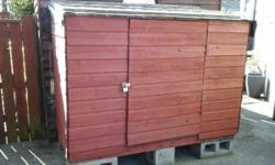 "Shed for sale height 56"" depth 37"" Width 74"" £60.00"