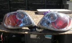 shed clean out Peugeot 206cc back lights up grade ones