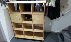 Shelf unit ideal for books or living room area good
