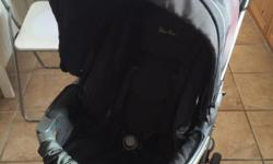 Silver Cross 3D Travel System. Includes pushchair which
