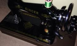 Singer sewing machine (1968) for sale! Some parts