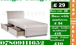 """Divan and Leather both types of beds in Single, Double"
