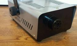 FoggaMatic FM-201 smoke machine. Comes with controller