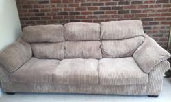Three Seater Settee (approx 2.4m X 1m) Two Chairs