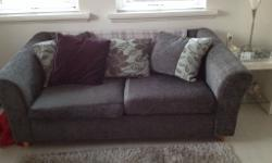 Grey metal action sofa bed for sale excellent