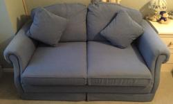 Blue Revlon sofa bed purchased from Bentals, never