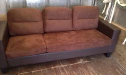 Nice brown sofa in excellent condition bargain at just