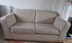 3 years old M&S fabric sofa in good used condition, few