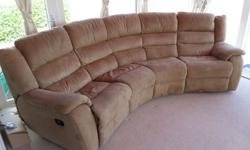 4 seater sofa from dfs in immaculate condition comes
