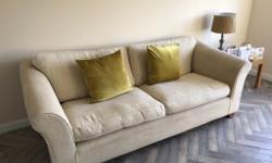 Two x large 3 seater sofas in excellent condition. £300