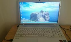 Sony vaio laptop not used very much. Comes with a an