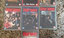 The Sopranos complete series box set. Contains seven