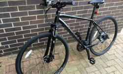 Specialized Crosstrail Hybrid Bike sports disc 2014