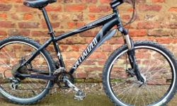 Specialized Hardrock Sport. The bike consists of a