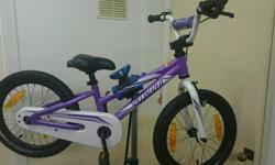 This is my daughters specialized hotrock 16 Now out