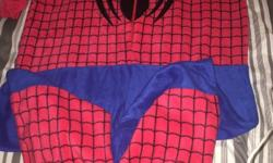 Soft feel spiderman onsie size extra large new