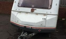 Old 2 berth caravan in good dry condition for year the