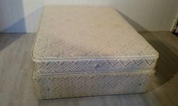 Sprung Base Double Divan Bed for Sale Few stains on the