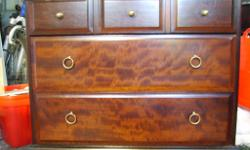 Stag Minstrel 5 Drawer Mahogany Unit Measurements are