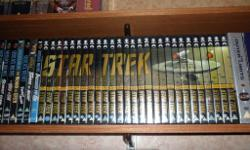 A complete set of the original Star Trek series, these