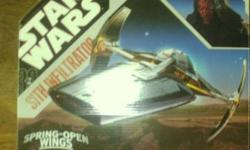 STAR WARS SITH INFILTRATOR SHIP BOXED